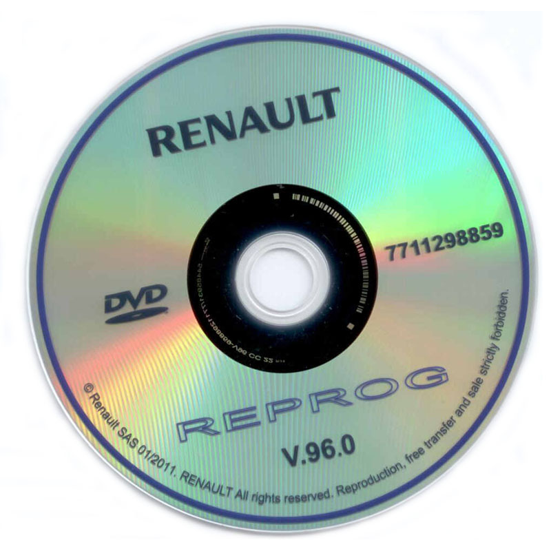 renault-can clip diagnostic-disc